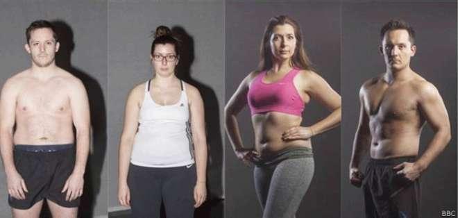 Dos voluntarios se sometieron a estas transformaciones, quedando atónitos por la diferencia entre ambas imágenes.