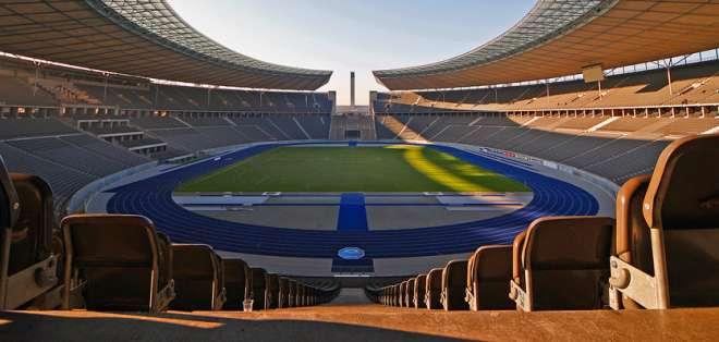El estadio Olímpico de Berlín será el escenario de la final de la Champions.
