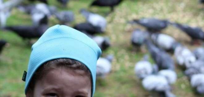 La relación de Gabi Mann con los cuervos de su barrio comenzó cuando tenía 4 años.