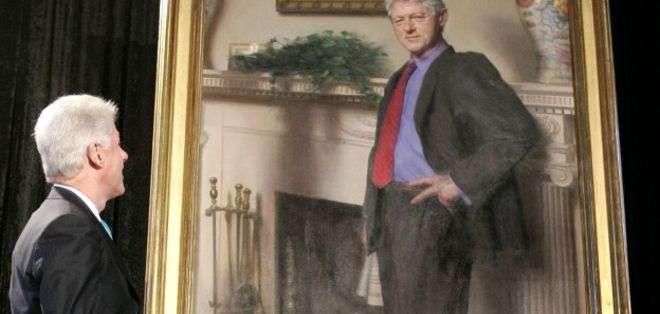 El cuadro fue pintado en 2006 por encargo de la Galería Nacional de Retratos.
