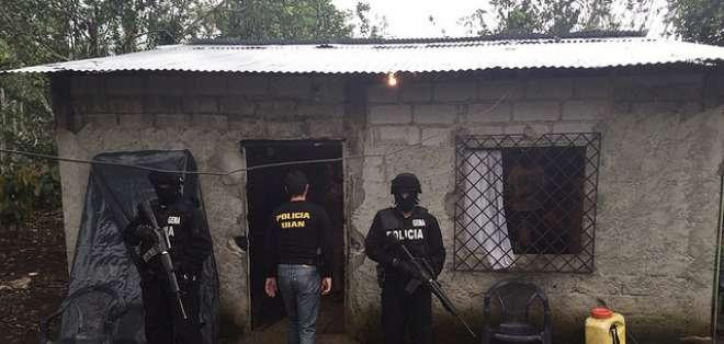 La operación se cumplió en la localidad de Las Naves, en la provincia de Bolívar. Foto: Ministerio del Interior