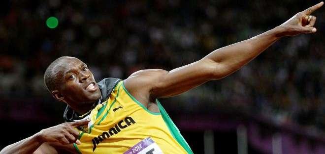 Usain Bolt, el hombre más rápido del mundo (Foto: Internet)
