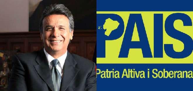 QUITO.- El movimiento oficialista Alianza País rechazó las declaraciones de Moreno en un comunicado.  Fotos: Web