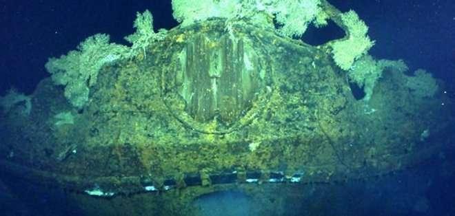 FILIPINAS. El Musashi formaba parte del trío de naves construidas por los japoneses durante el conflicto que, con sus 263 metros de eslora, son los mayores buques de guerra jamás construidos. Fotos: @PaulGAllen
