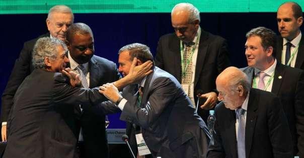 Napout fue electo por unanimidad. Foto: EFE.