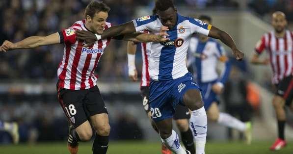 ESPAÑA.- Athletic de Bilbao se impuso 2-0 en terreno del Espanyol.