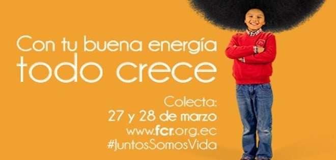 La colecta se realizará en las principales avenidas de Quito, Guayaquil, Cuenca, Ambato, Ibarra y Portoviejo.