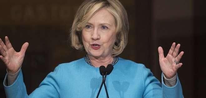 ESTADOS UNIDOS. Durante sus cuatro años al frente del departamento de Estado (2009-2013), Clinton jamás usó su dirección electrónica oficial (que termina en state.gov). Fotos: Archivo