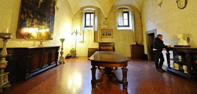 Detalle del interior de la Basílica de la Santísima Anunciación, en Florencia Fotos: EFE