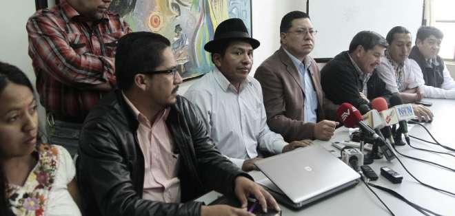 La mañana de este jueves inició en Quito la llamada 'Cumbre de los Pueblos'.