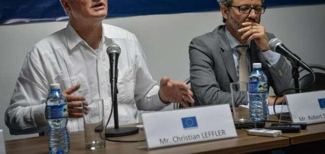 """Desde hace 11 meses representantes de la UE y Cuba, cuyas relaciones están oficialmente congeladas desde 2003, negocian con miras a un """"Acuerdo de Diálogo Político y Cooperación"""". Fotos: AFP"""