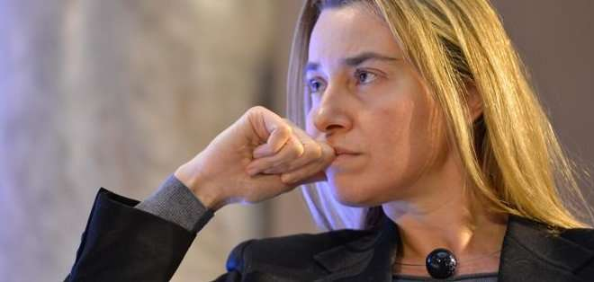 """""""Creo que un buen acuerdo está al alcance de la mano [...] pero no habrá acuerdo si no es un buen acuerdo"""", dijo Mogherini a eurodiputados. Foto: referencial"""