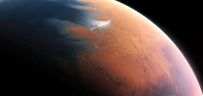 CIENCIA.- Según investigaicones, Marte tuvo un océano hace unos 4.500 millones de años que ocupó el 19% del planeta. Foto tomada de Internet
