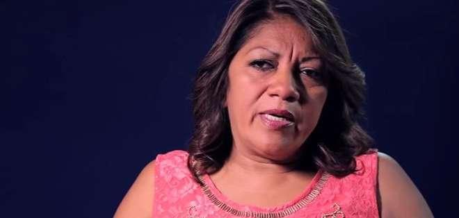 """Yolanda, madre de tres hijos, llegó a Barcelona desde Guayaquil en el año 2000 """"con una ilusión bajo el brazo"""", pero fue víctima de la crisis, que afectó especialmente al sector de la construcción. Fotos: captura de pantalla"""