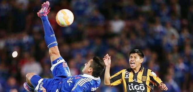 El encuentro fue jugador en el estadio Nacional de Santiago de Chile (Foto: EFE)