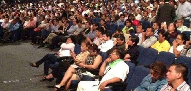 Este encuentro resaltó que Alianza PAIS es la primera fuerza política del país, no solo por lo números, sino también por su organización.
