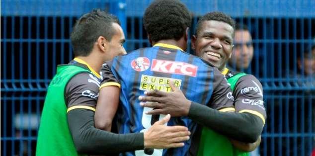Angulo marcó la segunda conquista de Independiente. Foto: API.