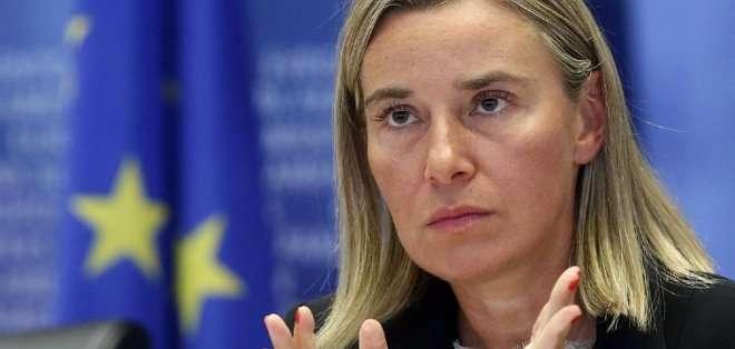 Federica Mogherini, aseguró esta semana que el Consejo de Ministros de Exteriores inluirá en la agenda a América Latina. Foto: Archivo