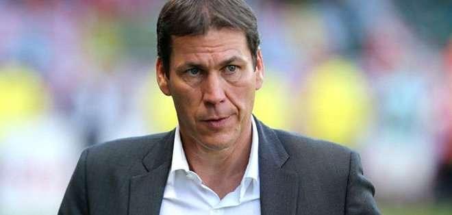 """""""No he reconocido en nada a mi equipo"""", admitió, muy decepcionado, el entrenador francés de la Roma, Rudi Garcia."""