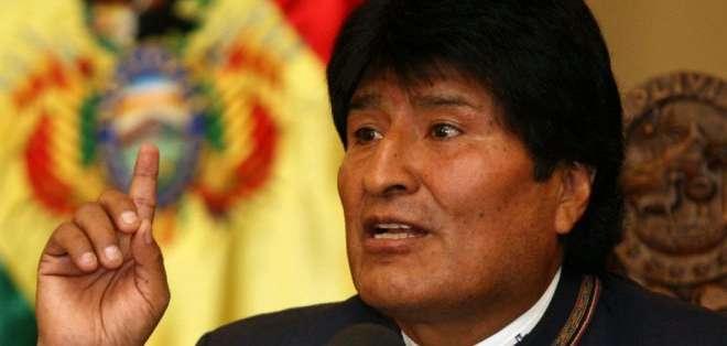 """BOLIVIA. Morales """"tenía un resfrío, pero ha seguido viajando"""", por los cambios de temperatura entre los Andes y los Llanos. Foto: Archivo"""