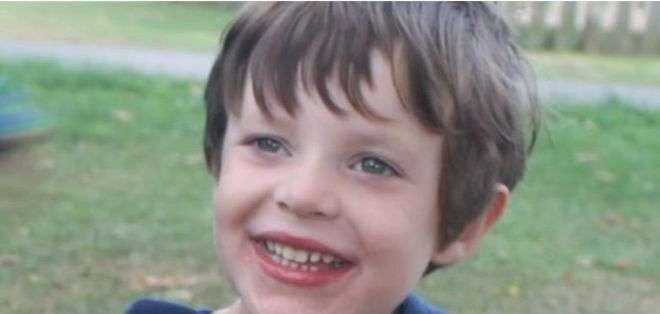 Sam Evans fue diagnosticado cuando era todavía un bebé.