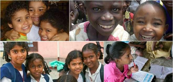 """""""Cada niña merece nuestro respeto y cada niña merece una educación"""", señaló el mandatario, padre de dos hijas adolescentes, Sasha, de 16 años, y Malia, de 13."""