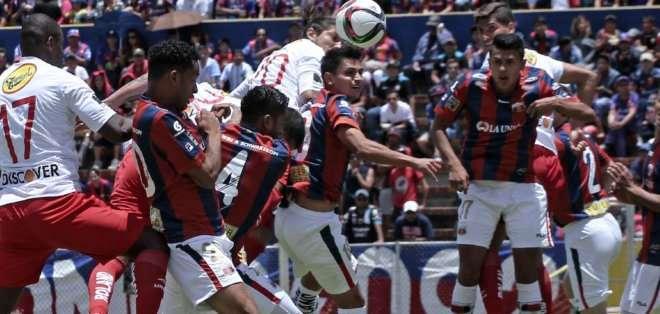 Deportivo Quito y Liga empataron sin goles. Foto: API.