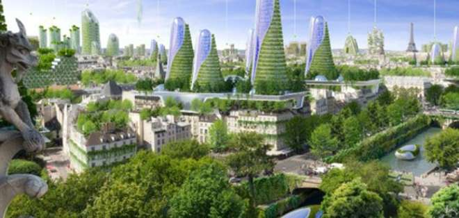 FRANCIA.- Se lanza propuesta innovadora de estructuras inteligentes con viviendas ecológicas. Fotos: BBCMUndo.com