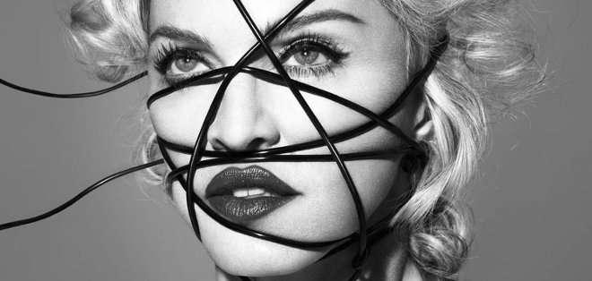 Madonna, La 'Reina Del Pop' regresa presentando su más reciente álbum de estudio bajo el sello de Interscope records.