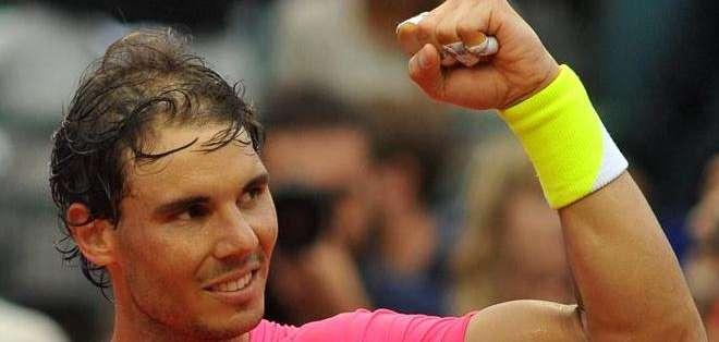 Rafael Nadal, es el primer favorito del torneo español (Foto: EFE)