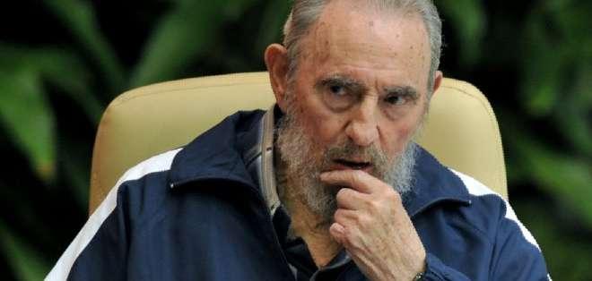 """CUBA. """"Querido Nicolás Maduro, presidente de la República Bolivariana de Venezuela: Te felicito por tu brillante y valiente discurso frente a los brutales planes del Gobierno de Estados Unidos"""", afirma Castro."""