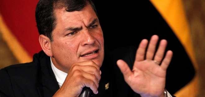 """Ecuador insistió en su rechazo a """"cualquier intento de desestabilización democrática de orden externo o interno en Venezuela"""". Foto: Archivo"""