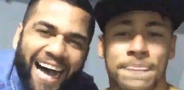 El pequeño video ha sido subido a la cuenta de Instagram de Neymar.