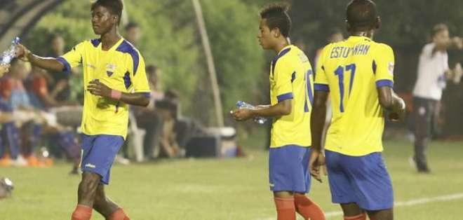 El lojano Anderson Naula fue la figura del partido tras anotar dos goles.El lojano Anderson Naula fue la figura del partido tras anotar dos goles
