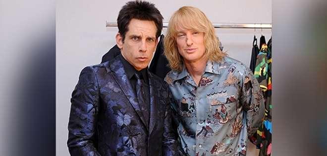 Ben Stiller y Owen Wilson sorprendieron en el show de Valentino en el Fashion Week de París.