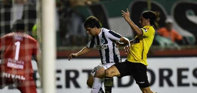 Barcelona no ha sumado un solo punto en la Libertadores. Foto: AFP.