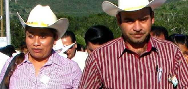 MÉXICO.-El esposo de la fallecida fue asesinado meses antes, según la fiscalía local. Fotos: Twitter: Aidé Nava y EFE