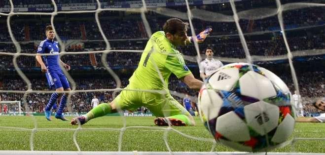 Casillas no pudo salvar de la derrota al MAdrid. Foto: AFP.