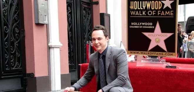 EE. UU. LOS ÁNGELES.- El actor de 42 años recibió la estrella número 2545 en el Paseo de la Fama de Hollywood. Foto: EFE.