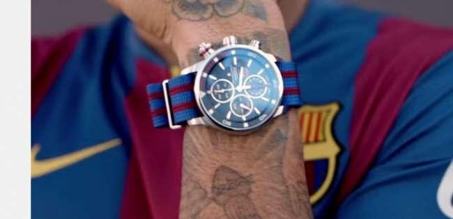 Estos son los relojes del Barca.