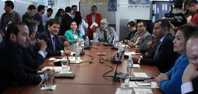 La Asamblea Nacional tramita el proyecto de Ley Orgánica de Prevención de Drogas. Foto: Legislativo
