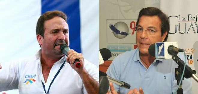 El dirigente de CREO, César Monge, fue declarado culpable por delito de injurias contra el prefecto Jimmy Jairala.