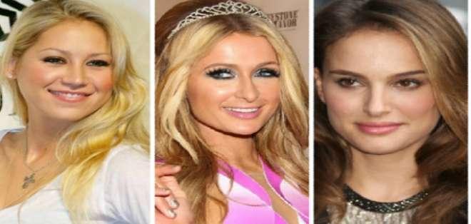 Anna Kournikova, Paris Hilton, Natalie Portman son algunas de las famosas que tienen 34 años. Fotos: web