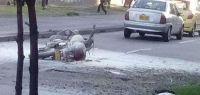 COLOMBIA. Se relaciona este hecho con otros casos de colocaciones de explosivos que se han presentado en los últimos meses en Bogotá. Foto: noticias Caracol
