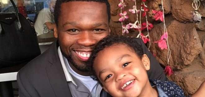 Sire es el hijo de 50 Cent con su ex novia, Daphne Joy.