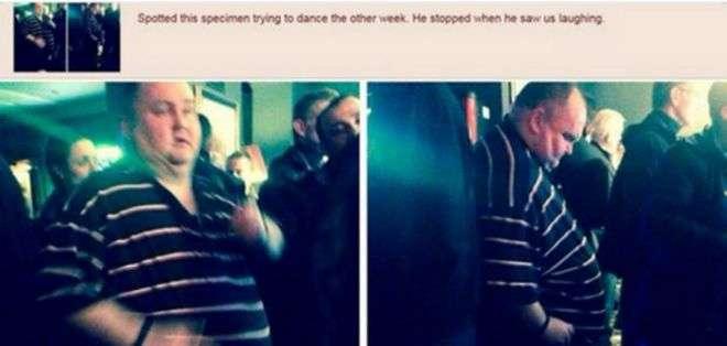 Las risas de los demás llevaron a Sean a dejar de bailar.