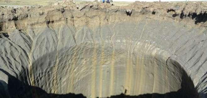 El cráter encontrado en Siberia tiene un diámetro de 1 kilómetro.
