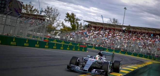 AUSTRALIA.- El doble campeón del mundo consiguió el mejor tiempo de la sesión de clasificación en Melbourne. Fotos: AFP