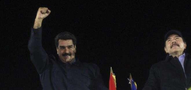 NICARAGUA.- El presidente venezolano emitió un discurso crítico contra su homólogo estadounidense, Barack Obama. Fotos: EFE