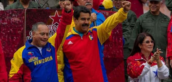 VENEZUELA.- Según el mandatario, el documento incluye iniciativas nacionales adoptadas tras el decreto de EE.UU. Foto: EFE